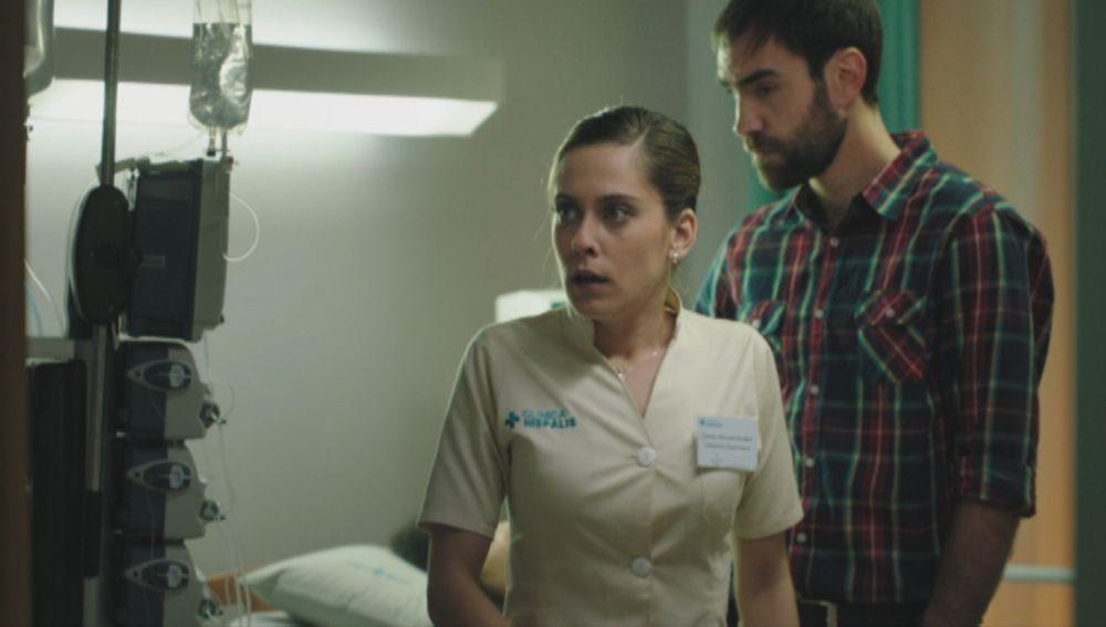María León y Jon Plazaola en 'Allí Abajo'