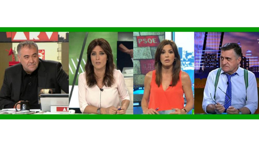 Al rojo vivo, laSexta Noticias 14h, Más vale tarde y El intermedio baten sus récords históricos