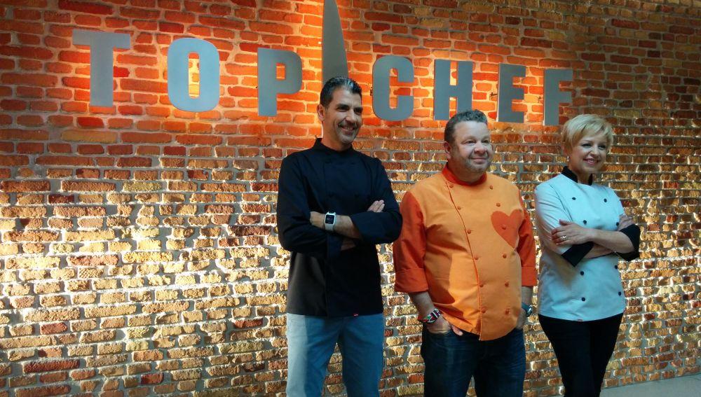 El jurado de Top Chef
