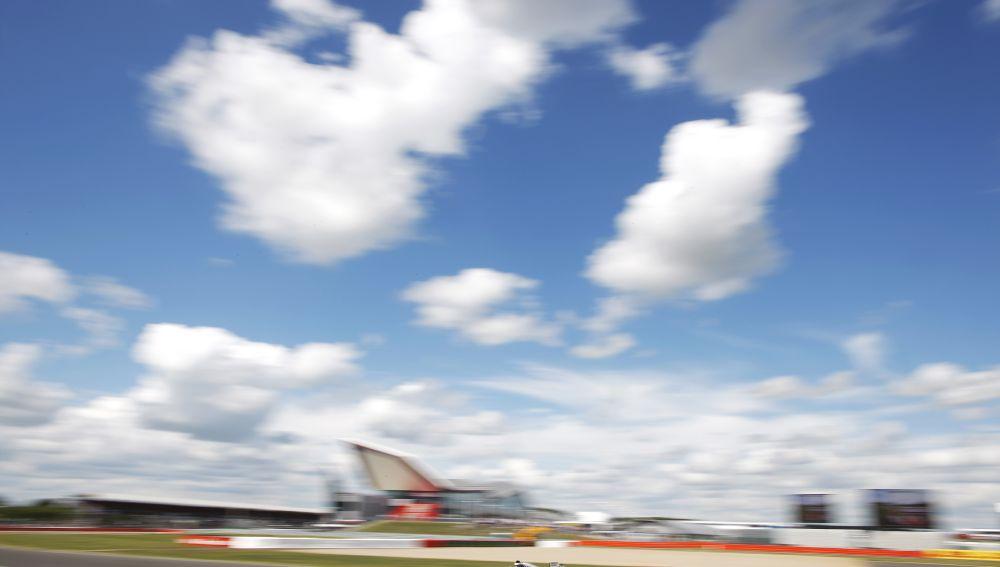 Mercedes en Silverstone