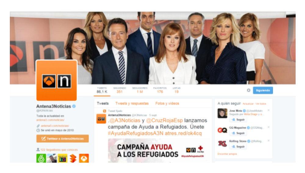 Antena 3 noticias twitter