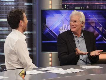 Richard Gere en 'El Hormiguero 3.0'