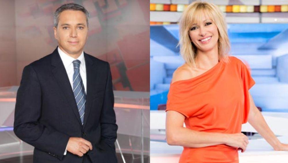 Vicente Valles y Susanna Griso