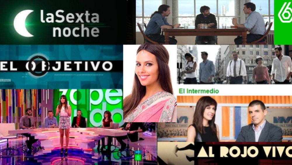Audiencia laSexta 2015/2016