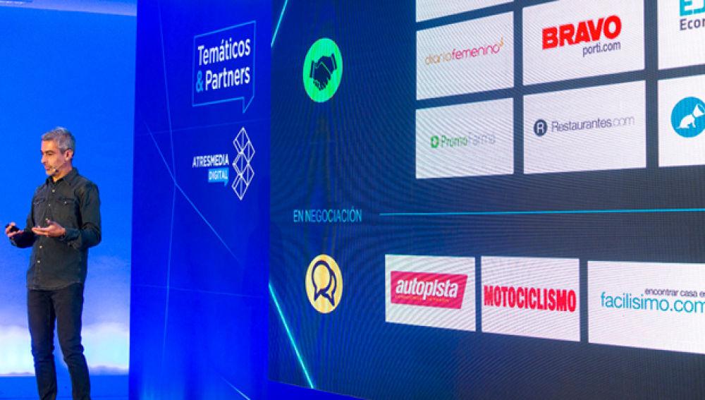 Atresmedia Digital presenta su nueva estrategia de temáticos y acuerdos con partners