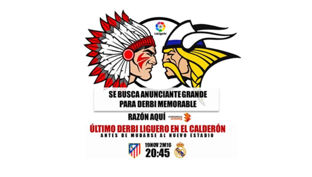 Último derbi liguero en el Calderón