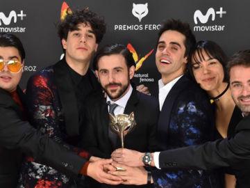 Paquita Salas reparto premios Feroz 2017