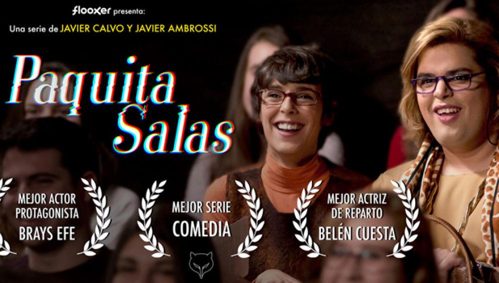 Paquita Salas triunfa en los Premios Feroz con tres galardones