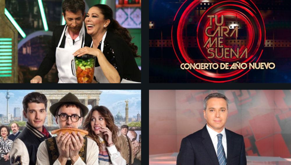 Antena 3, la cadena más vista durante dos meses consecutivos