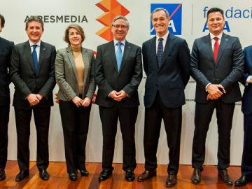ATRESMEDIA y Fundación AXA renuevan su compromiso por la Seguridad Vial