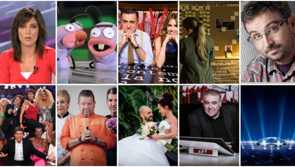 Antena 3 reafirma el éxito de su modelo televisivo y logra su máximo de temporada y su mejor febrero en 3 años, un 13,4%