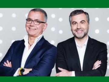 Carlos Alsina y Juan Ramón Lucas sumergen su 'Más de uno' en el Oceanográfic de Valencia