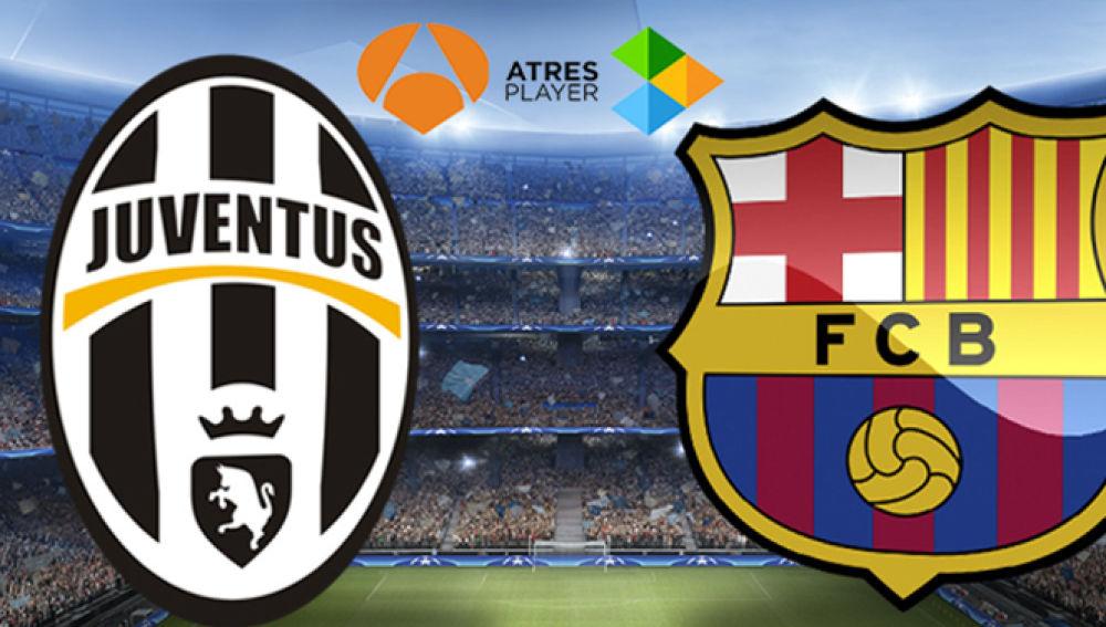 La ida de cuartos entre Juventus y Barça, Champions Total en Antena 3