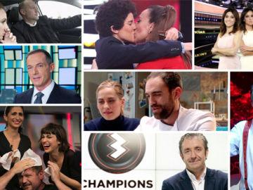 Audiencias Abril: Antena 3 conquista el horario estrella
