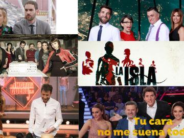 ATRESMEDIA TV, (30,3%), Antena 3 (14,7%) y laSexta (8,1%) logran un triple liderazgo del Target Comercial en Prime Time