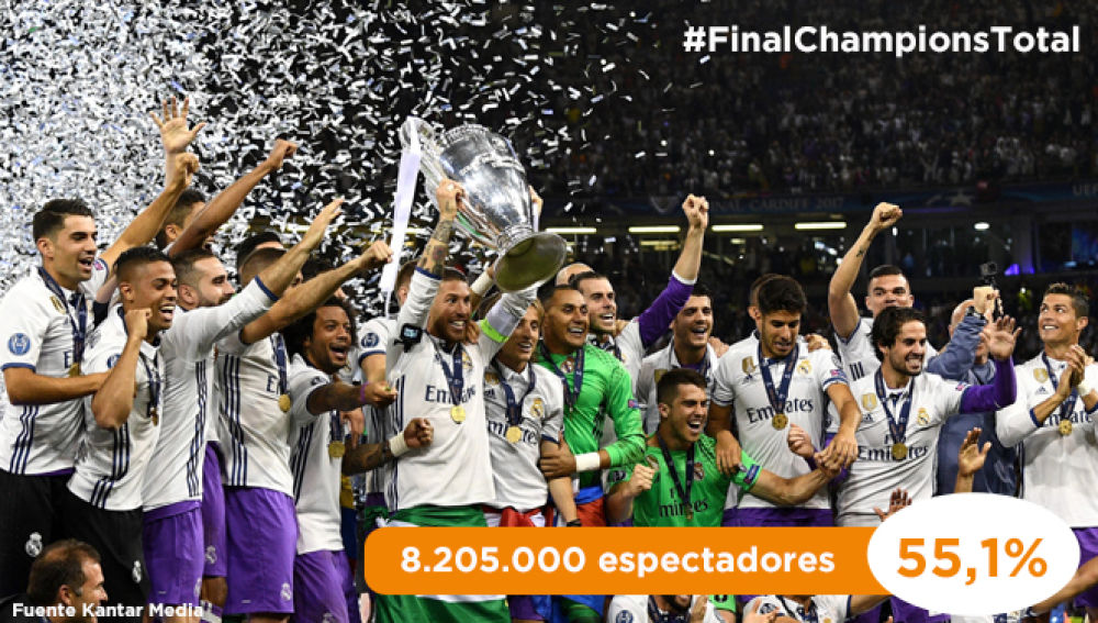 La Final de la Champions en Antena 3