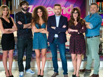 'ZAPEANDO' celebra su programa 900 a golpe de musical