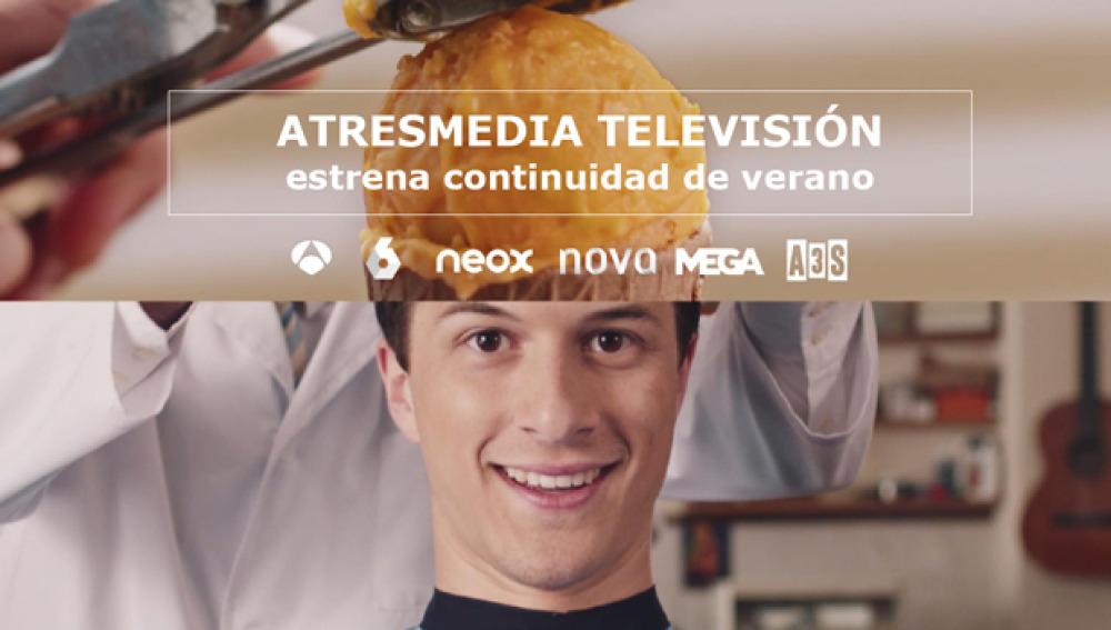 ATRESMEDIA TELEVISIÓN estrena continuidad de verano