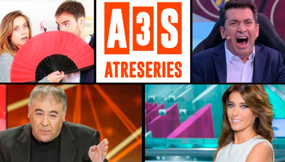 Atresmedia TV, grupo líder de la Tarde en julio (28,4%), cierra el mes con un 25,2% y aumenta al 27,2% en Target Comercial