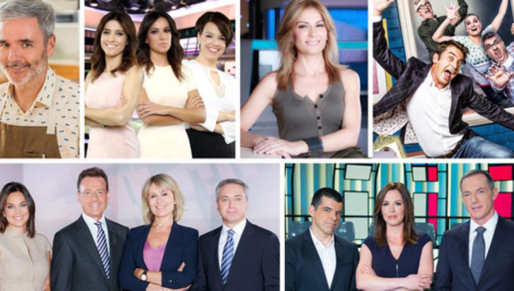 Audiencias Agosto: Atresmedia TV (25,7%) y Antena 3 (11,5%)