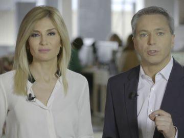 """Sandra Golpe y Vicente Vallés nos recuerdan que """"No es no, en cualquier circunstancia"""""""