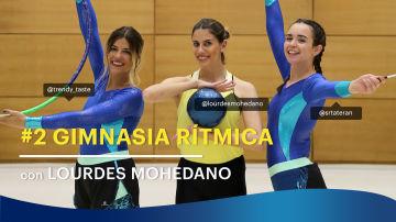 Gimnasia rítmica con Lourdes Mohedano | Trendy Taste VS. Rebeca Terán - RETO TAMPAX