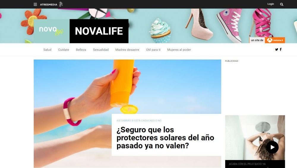 Nace 'Nova Life', el nuevo portal temático de Atresmedia dedicado a la mujer