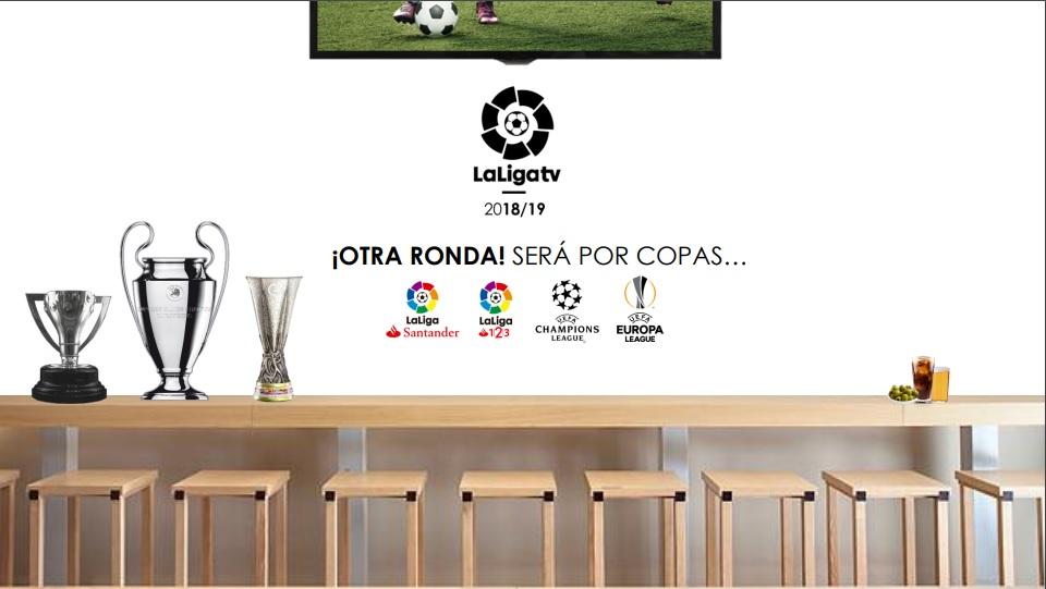 Tarifas Laliga 2018-2019