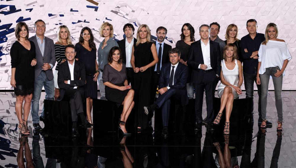 Equipo de Antena 3 Noticias 2018