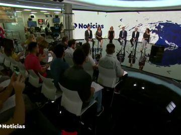 Antena 3 Noticias refuerza su apuesta con un nuevo plató