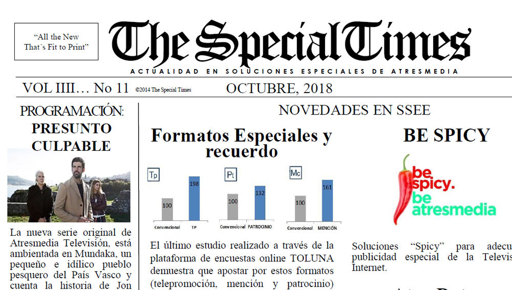 The special times 11