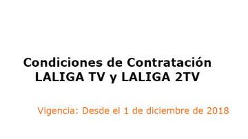 Condiciones de Contratación LALIGA TV y LALIGA 2TV