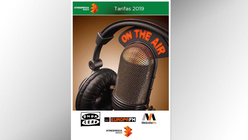 Rectificación de las tarifas de radio correspondientes al año 2019