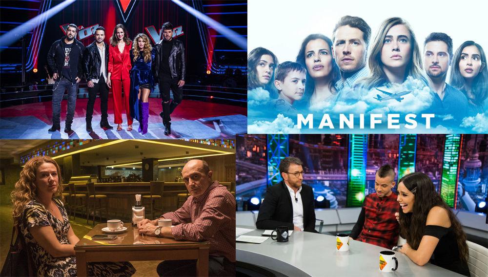 ATRESMEDIA TV, grupo líder absoluto de audiencia con su mejor resultado en más de 3 años (noviembre 2015): 28,4%
