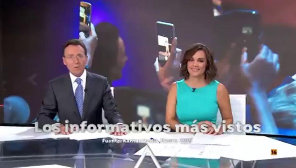 El entretenimiento más visto, la serie más vista, los informativos más visto. Esto es Antena 3.