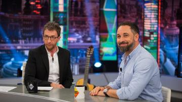 """Santiago Abascal, en 'El Hormiguero 3.0':  """"Yo no admito lecciones del PSOE"""""""