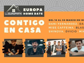 Europa Home Date, Europa FM contigo en casa