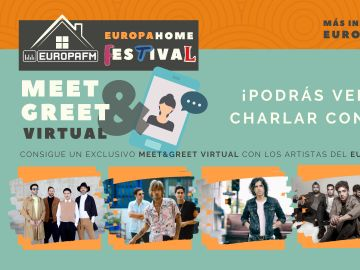 Meet & Greet virtual con los artistas del Europa Home Festival