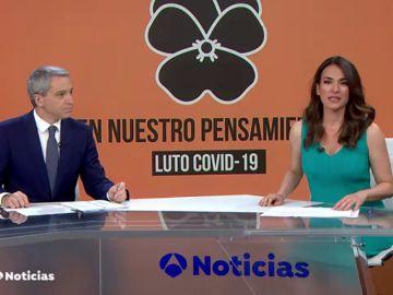 """""""En nuestro pensamiento"""": Atresmedia se une a los diez días de luto oficial en homenaje a las víctimas del coronavirus"""