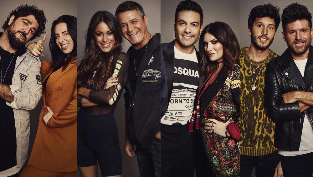 Sebastián Yatra Carlos Rivera Mala Rodríguez y Tini se unen a la familia de 'La Voz' como asesores del programa.