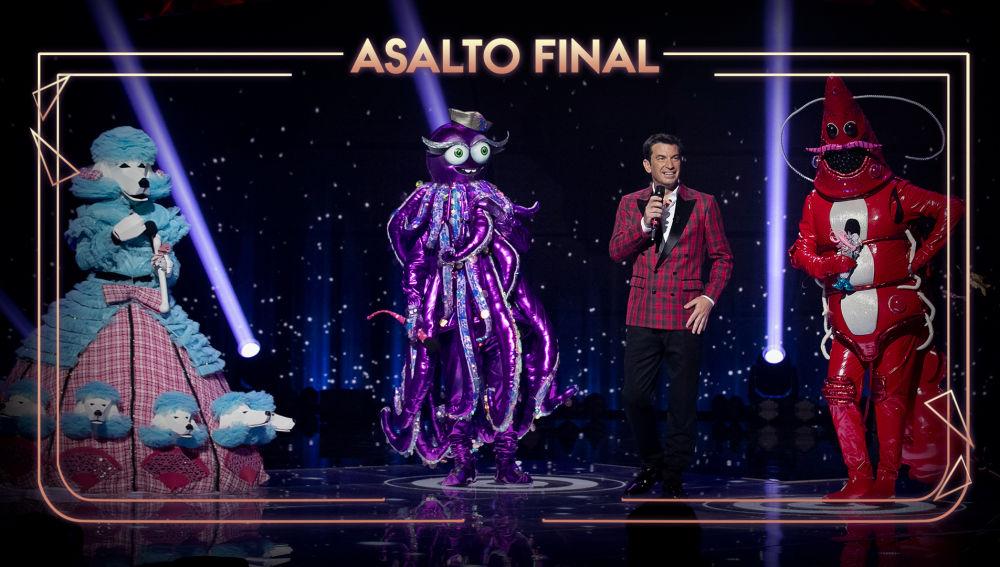 Mask Singer: adivina quién canta - El Caniche, el Pulpo y la Gamba se baten en el asalto final