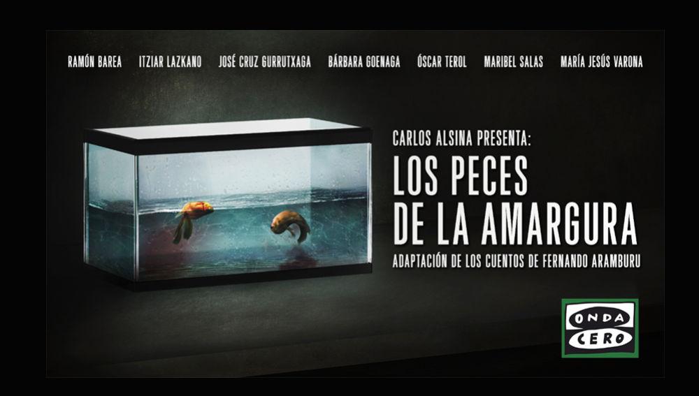 Carlos Alsina emite en Más de uno la adaptación radiofónica de 'Los peces de la amargura', los relatos de Fernando Aramburu