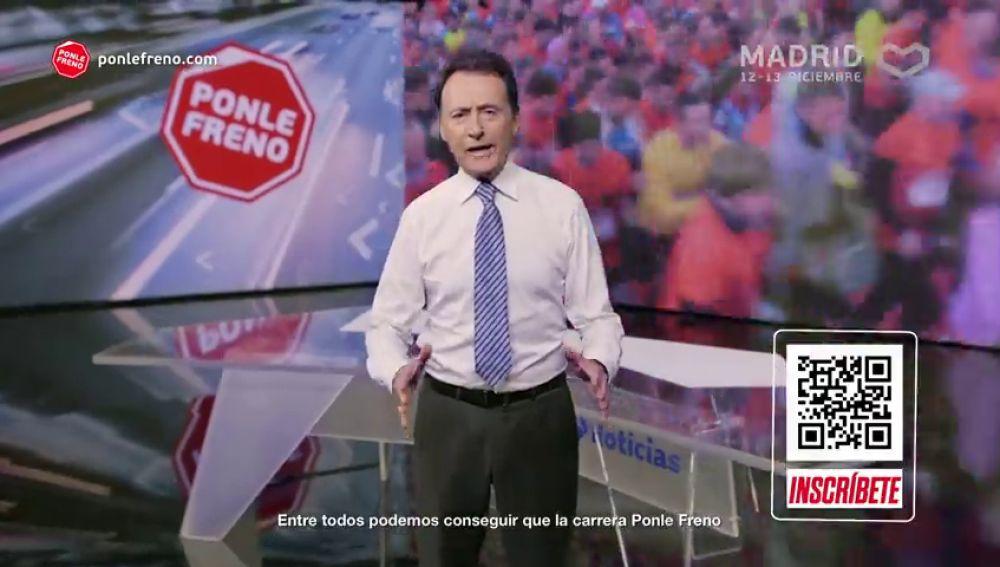 Más de 20 rostros de Atresmedia animan a que la nueva cita de PONLE FRENO se convierta en la mayor carrera virtual de la historia