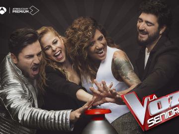 Antena 3 estrena la nueva y emocionante edición de 'La Voz Senior' el jueves 10 de diciembre