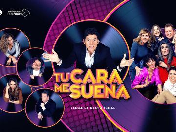 Llega la Gran Final de 'Tu cara me suena': el viernes a las 22 horas en Antena 3