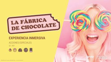 Atresmedia y Fever lanzan La Fábrica de chocolate, una nueva experiencia Fever Original
