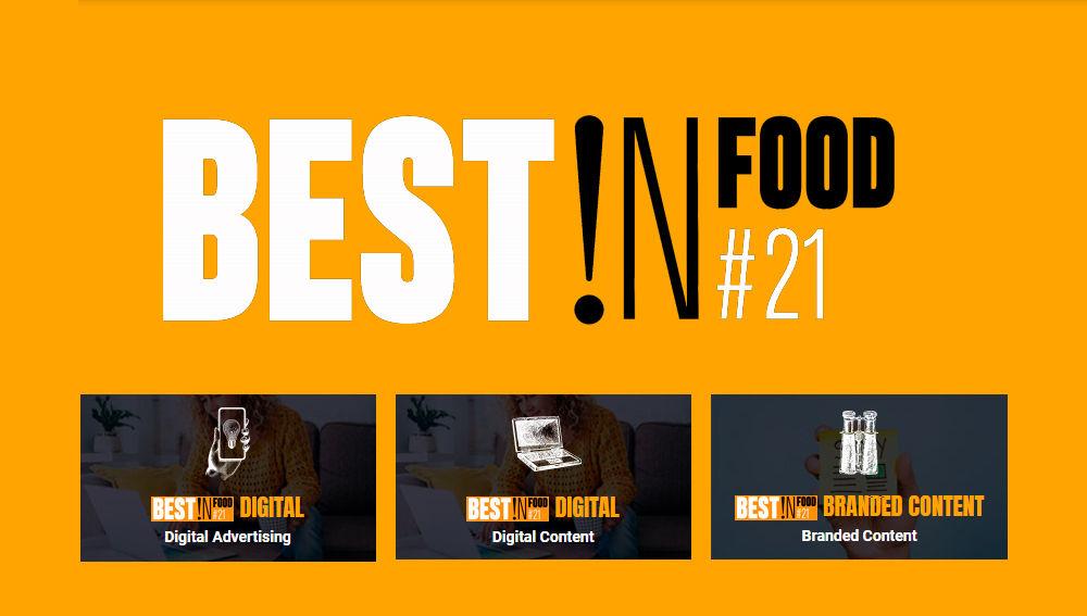 Atresmedia brilla Best!N Food 2021con 3 platas