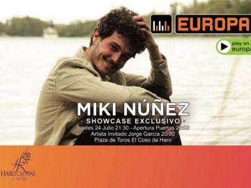 Consigue entradas para ver a Miki Núñez en Haro (La Rioja)
