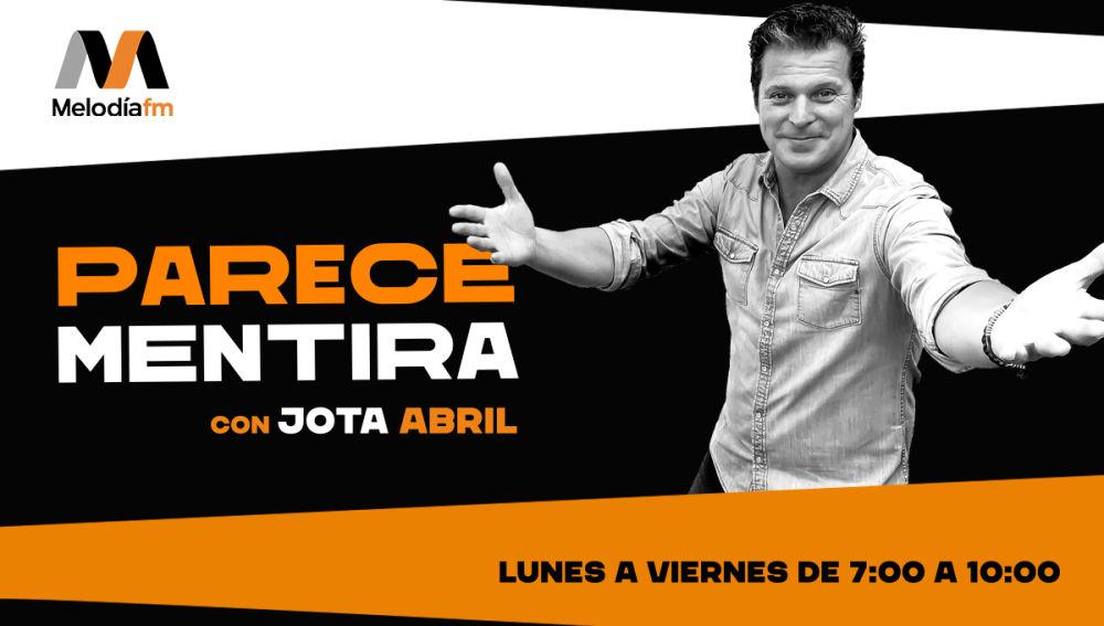 Melodía FM estrena este lunes el morning show 'Parece mentira', conducido por Jota Abril