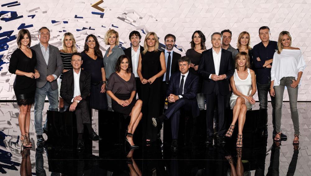 'Antena 3 Noticias', con los informativos líderes y más vistos de la televisión, inicia una nueva temporada reafirmando su compromiso con la información y su posición de referencia